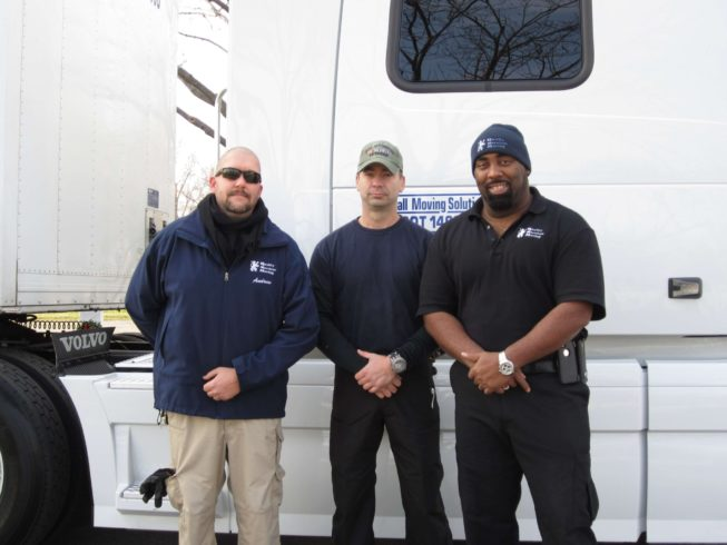 Andrew, Troy and Kevin at Wreaths Across America, Arlington Virginia